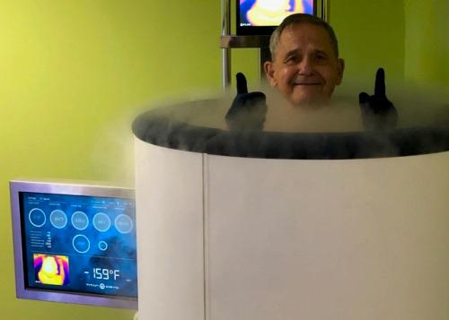 Tropical Tan Cryotherapy Maryland Man